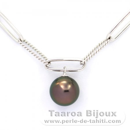 35.00 cts 7 in environ 17.78 cm naturel long apatite forme ronde perles Bracelet NK 09E110