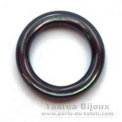 Forma redonda en nacarado - Diámetro de 20 mm
