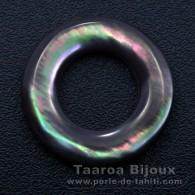 Forma redonda em madrepérola - Diâmetro de 20 mm
