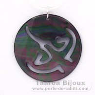 Tahitian Mother-of-Pearl Ray Pendant