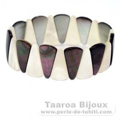 Tahiti madreperla braccialetto - Diametro = 6 cm