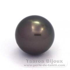 Superbe perle de Tahiti Ronde B 14.4 mm