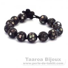 Tahitian Mother-of-pearl bracelet - Length = 19 cm