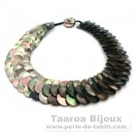 Tahiti Perlmutt Halsband - Länge = 45 cm