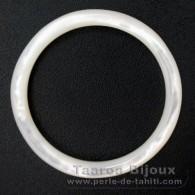 Forme ronde en nacre - Diamètre de 40 mm