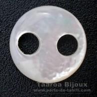 Forma rotonda in madreperla - Diametro de 15 mm