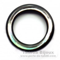 Tahitian mother-of-pearl round shape  - 25 mm diameter