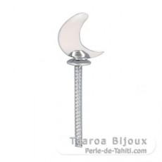 Colgante de Plata .925 para 1 Perla de 9 a 14 mm